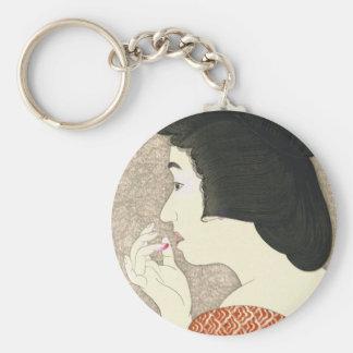 Twelve Aspects of Women Lipstick Torii Kotondo Key Chain