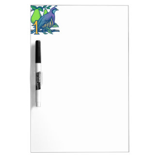 Twelve Days of Christmas: Partridge in a Pear Tree Dry-Erase Whiteboards