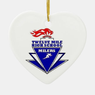 Twelve Mile IN High School Ornaments