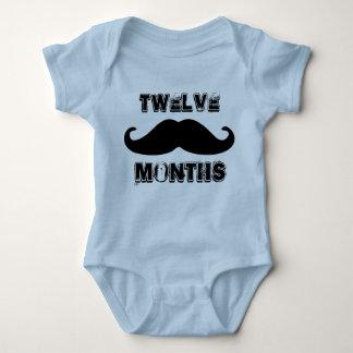 Twelve Months Old Baby Boy One Piece Body Suit Baby Bodysuit