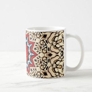 Twelve Points Mandala Coffee Mug