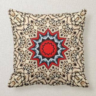 Twelve Points Mandala Cushion