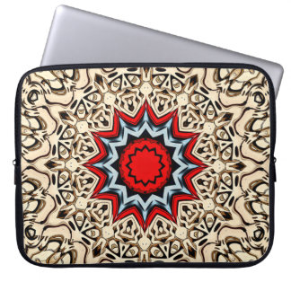 Twelve Points Mandala Laptop Sleeve