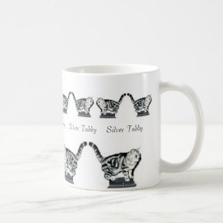 Twelve Silver Tabbies Coffee Mug