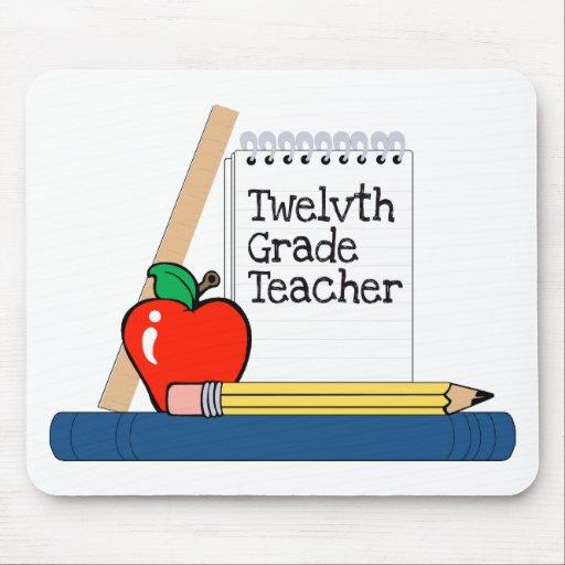 Twelvth Grade Teacher (Notebook) Mousepad
