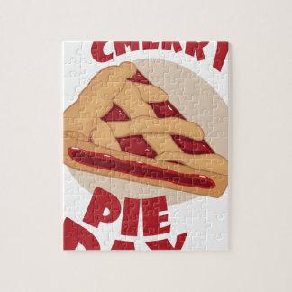 Twentieth February - Cherry Pie Day Jigsaw Puzzle