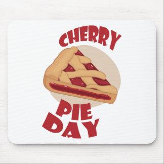 Twentieth February - Cherry Pie Day Mouse Pad