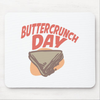 Twentieth January - Buttercrunch Day Mouse Pad