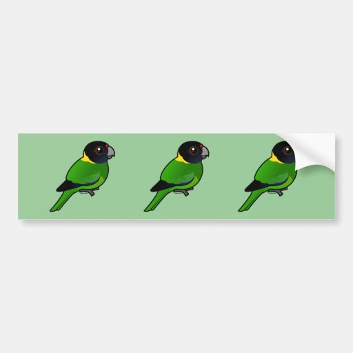 Twenty-eight Parrot Bumper Sticker