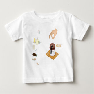 Twenty-eighth February - Chocolate Souffle Day Baby T-Shirt