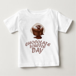 Twenty-eighth February - Chocolate Soufflé Day Baby T-Shirt