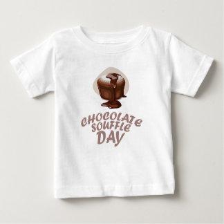 Twenty-eighth February - Chocolate Soufflé Day Baby T-Shirt