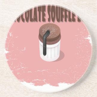 Twenty-eighth February - Chocolate Souffle Day Drink Coasters