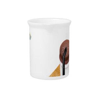 Twenty-eighth February - Chocolate Souffle Day Drink Pitchers