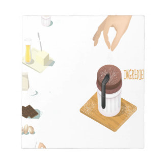 Twenty-eighth February - Chocolate Souffle Day Notepad