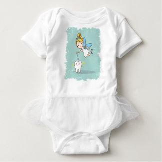 Twenty-eighth February - Tooth Fairy Day Baby Bodysuit