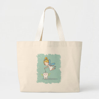 Twenty-eighth February - Tooth Fairy Day Large Tote Bag