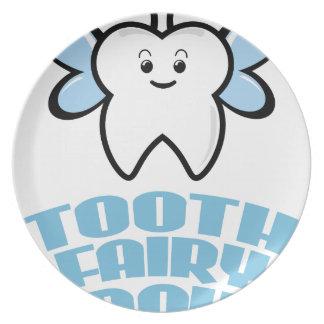 Twenty-eighth February - Tooth Fairy Day Plate