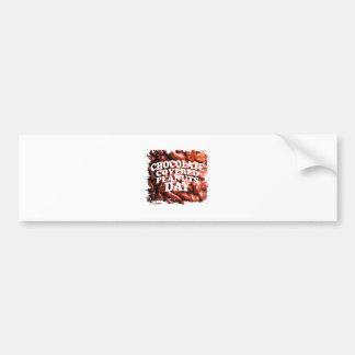 Twenty-fifth Februar Chocolate-Covered Peanuts Day Bumper Sticker