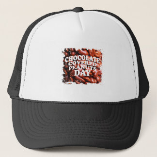Twenty-fifth Februar Chocolate-Covered Peanuts Day Trucker Hat