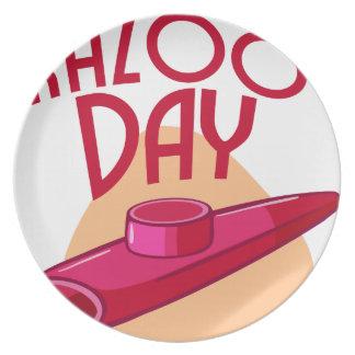 Twenty- fifth January - Irish Coffee Day Plate