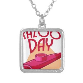 Twenty- fifth January - Irish Coffee Day Silver Plated Necklace