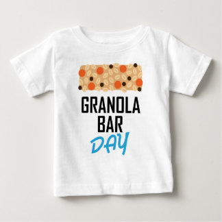 Twenty-first January - Granola Bar Day Baby T-Shirt