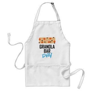 Twenty-first January - Granola Bar Day Standard Apron
