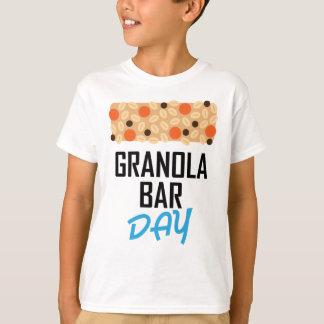 Twenty-first January - Granola Bar Day T-Shirt