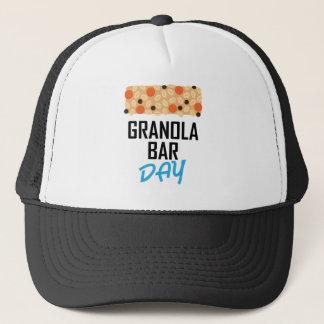 Twenty-first January - Granola Bar Day Trucker Hat