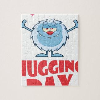 Twenty-first January - Hugging Day Jigsaw Puzzle