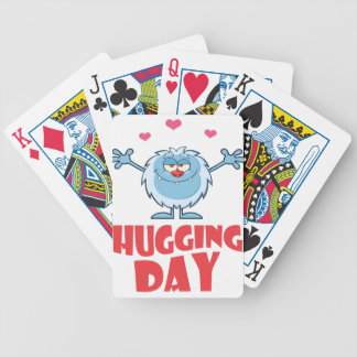 Twenty-first January - Hugging Day Poker Deck