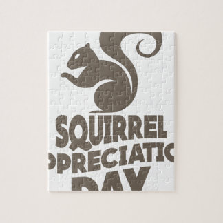 Twenty-first January - Squirrel Appreciation Day Puzzle