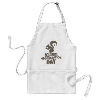 Twenty-first January - Squirrel Appreciation Day Standard Apron