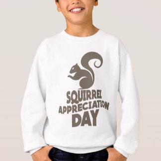 Twenty-first January - Squirrel Appreciation Day Sweatshirt