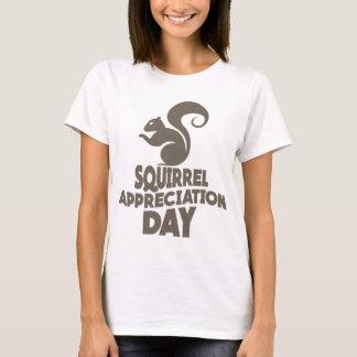 Twenty-first January - Squirrel Appreciation Day T-Shirt