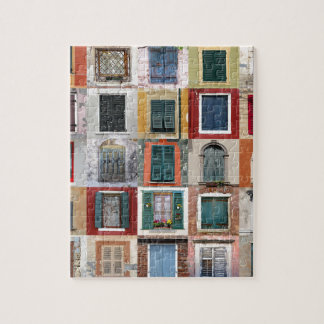 Twenty Five Windows Jigsaw Puzzle
