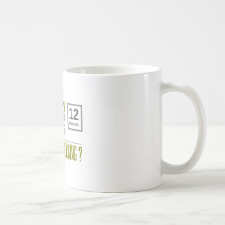 twenty four hours coffee mug