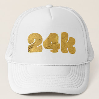 Twenty Four Karat Gold Trucker Hat