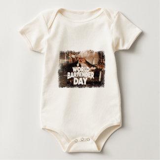 Twenty-fourth February - World Bartender Day Baby Bodysuit