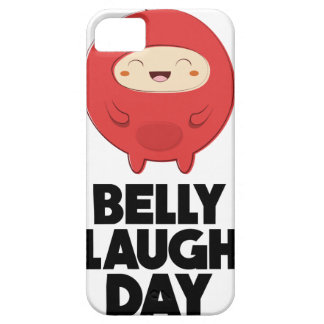 Twenty-fourth January - Belly Laugh Day Barely There iPhone 5 Case