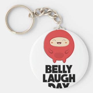 Twenty-fourth January - Belly Laugh Day Key Ring