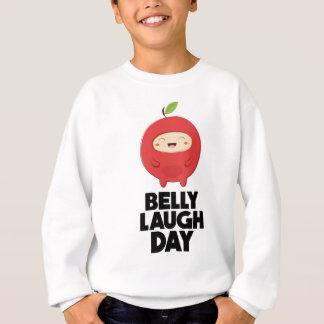 Twenty-fourth January - Belly Laugh Day Sweatshirt