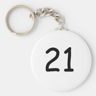 Twenty One Key Chain