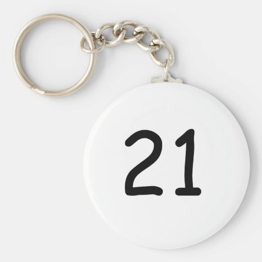 Twenty One Key Chain