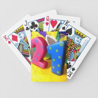 Twenty One Poker Deck
