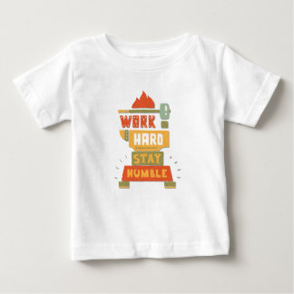 Twenty-second February - Be Humble Day Baby T-Shirt