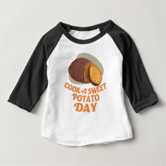 Twenty-second February - Cook a Sweet Potato Day Baby T-Shirt