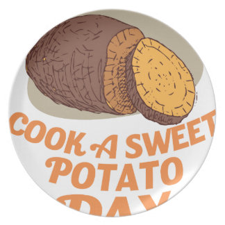 Twenty-second February - Cook a Sweet Potato Day Plate