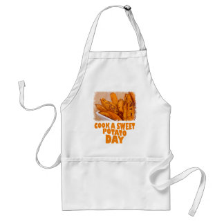 Twenty-second February - Cook a Sweet Potato Day Standard Apron
